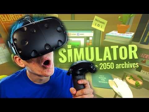 I AM THE BOSS MAN | Job Simulator #2  (HTC Vive Virtual Reality)