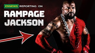 james toney got a message for rampage - king mo will ko you EsNews Boxing