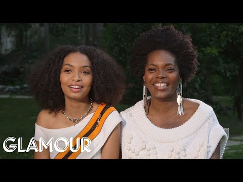 Black-ish Star Yara Shahidi on How Her Mom Has Always Taught Her to 'Own Your Space' | Glamour