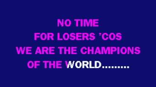 Karaoke - Queen: We Are The Champions
