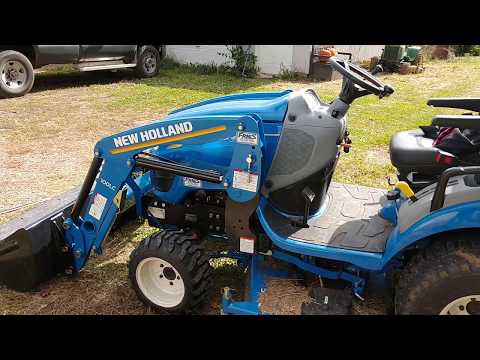 New Holland Workmaster 25S | Subcompact Tractor Review