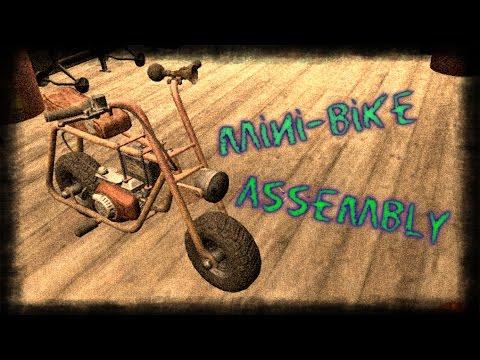 7 Days To Die - Как собрать минибайк / How To Assemble Minibike (alfa 15)