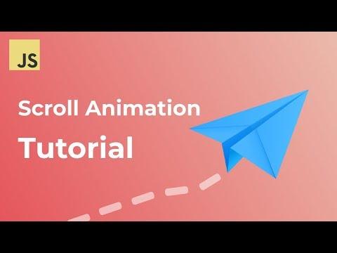 Javascript Scroll Animation Tutorial   GSAP and ScrollMagic Tutorial thumbnail
