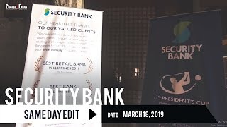 Security Bank President's Cup | Same Day Edit by Phases and Faces
