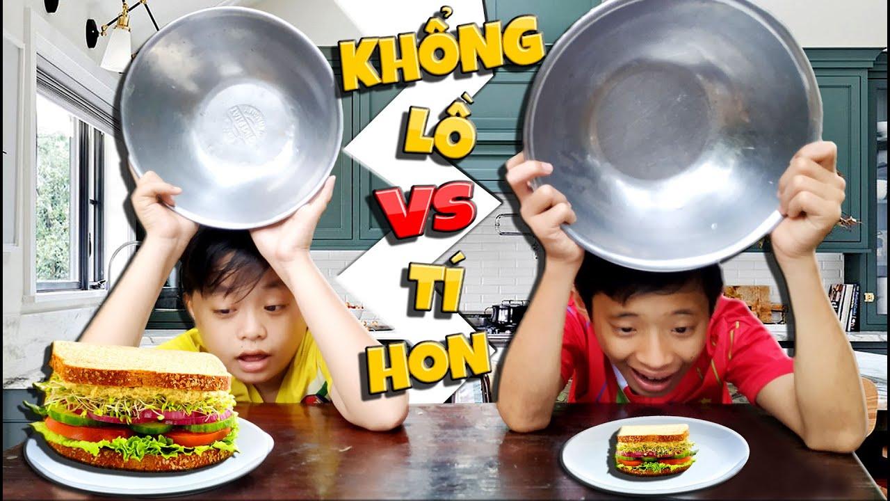 Tony | Đại Chiến Đồ Ăn Khổng Lồ VS Siêu Nhỏ – Giant VS Tiny Food
