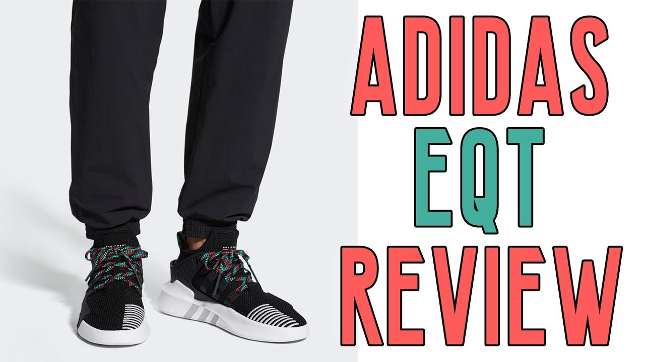 adidas eqt basket avanzata scarpa revisione   unboxing su youtube