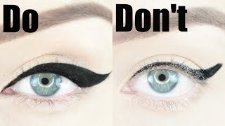 Winged Eyeliner Dos and Don'ts | STEPHANIE LANGE