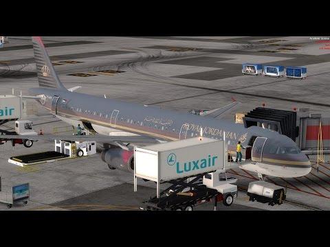 Royal Jordanian | Flight Deck TV™ {VATSIM} | Istanbul (LTBA) - Vienna (LOWW) A321