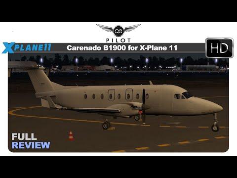 [X-Plane] Carenado B1900D for X-Plane 11 | Full Review