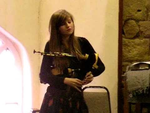 Chloe Corrigan (aged 13) Northumbrian Small Pipes