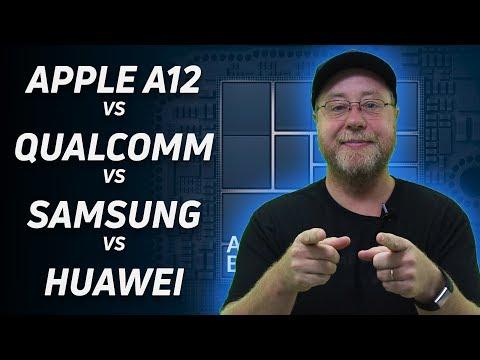 Apple A12 vs Snapdragon vs Exynos vs Kirin (Preliminary Analysis)