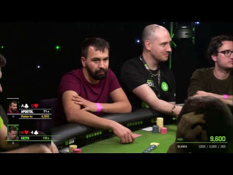 Main Event Day 1B at Unibet Open Dublin 2018 Live Stream