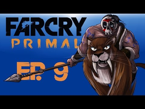 Farcry Primal Ep. 9 (BloodFang Saber-tooth Hunting!!) BEAST MASTER!!!
