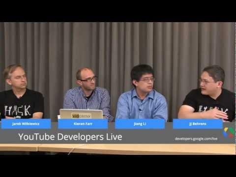 YouTube Developers Live: Vidcaster