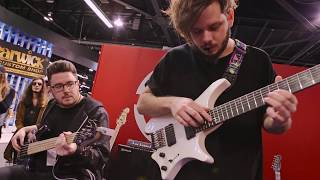 NAMM 2018 | David Maxim Micic & Simon Grove Live At The Dunlop Booth