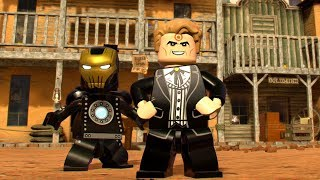 LEGO Marvel Super Heroes 2 Bullseye (Old West) Boss Battle Unlock + Free Roam Gameplay