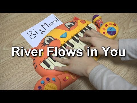 Yiruma - River Flows in You (Cat piano cover)