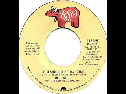 Bee Gees - You Should Be Dancing (Dj ''S'' Bootleg Remix)