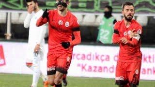 Akhisar Belediyespor 1-1 Galatasaray Maçının Geniş Özeti Ziraat Türkiye Kupası 19.01.2016