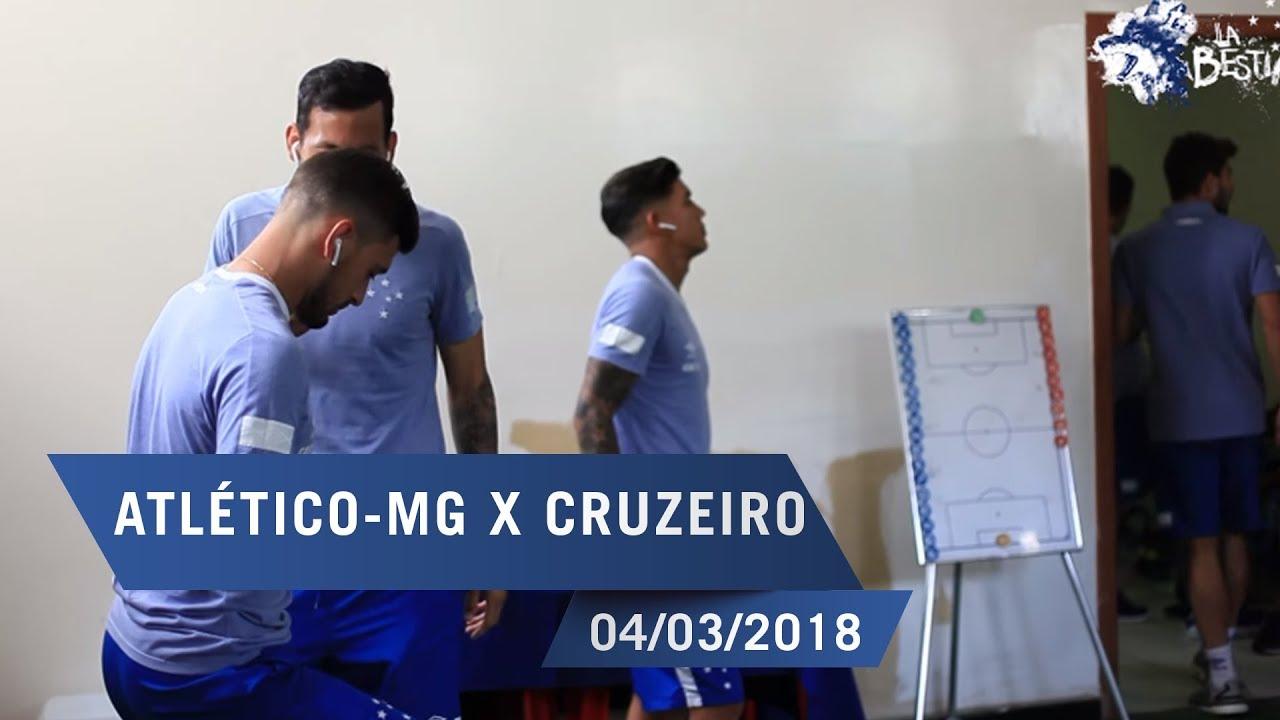 fbfb6323bc 04 03 2018 - Bastidores  Cruzeiro 1 x 0 Atlético-MG - YouTube