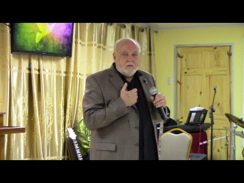 Pastor  Larry Orrell at Redemption Sanctuary of Praise