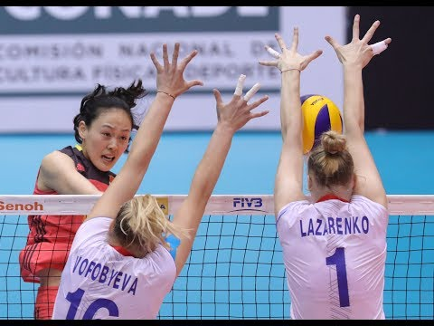 Russia vs China Final 2017 FIVB Women's U20 World Championship