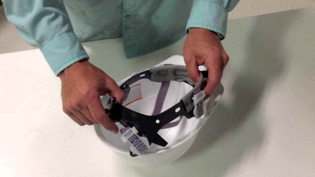 How To Install a Suspension Into a Bullard Hard Hat - YouTube