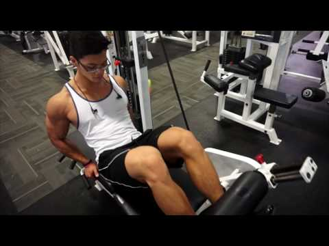 Killing Abs and Hams with athlete Rechie Wong 3.5 weeks out coach James Ayotte Monster Gym