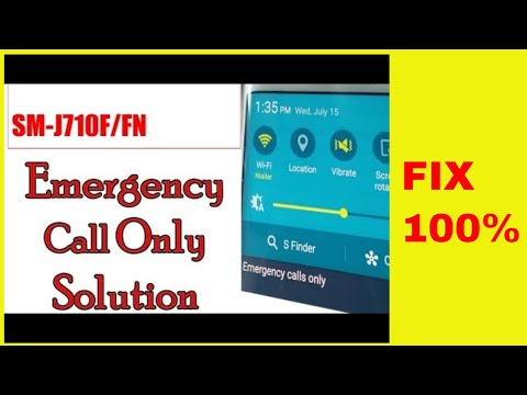 SM G610F Fix imei status NG and emergency call only with z3x 7 0