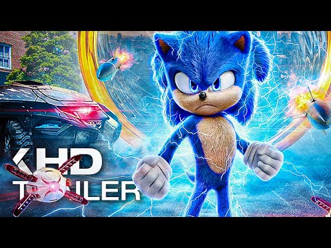 SONIC: The Hedgehog All Clips & Trailer (2020)