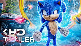sONIC THE HEDGEHOG All Clips & Trailer (2020) Action, Adventure Movie HD