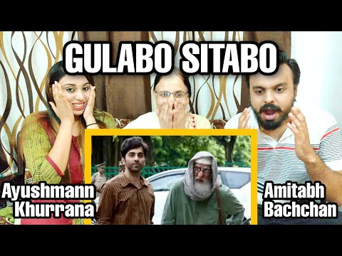 Gulabo Sitabo Trailer Reaction | Amitabh Bachchan Ayushmann Khurrana | Shoojit Sircar | NSM Reaction