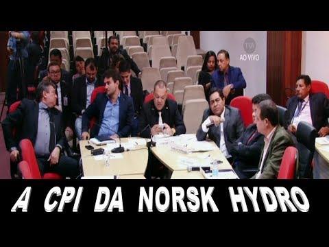 CPI QUESTIONA 80 ANOS DE CREDIBILIDADE DO - I E C A FAVOR DA NORSK HYDRO