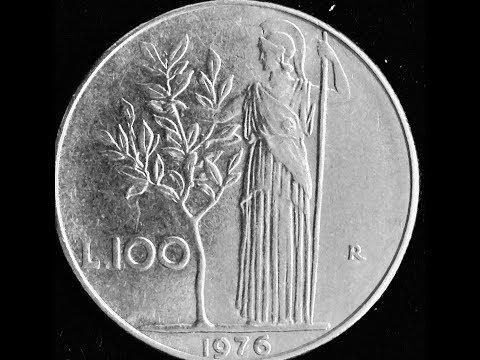 100 Lire Large Type - Italy 1967
