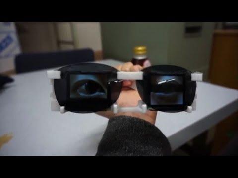 Lultima follia tecnologica dal Giappone: gli occhi indossabili