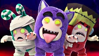 Download Video Oddbods | PARTY MONSTERS - Full Episode | Halloween Cartoons For Kids MP3 3GP MP4
