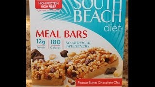 South Beach Diet: Peanut Butter Chocolate Chip Food Review