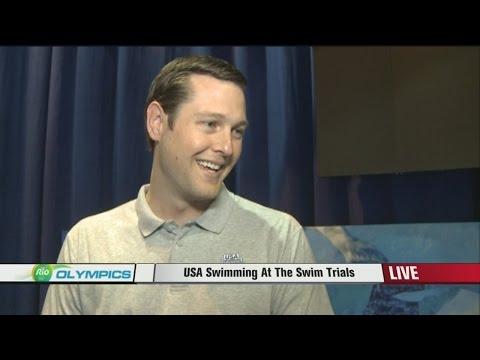 Scott Usher with USA Swimming Foundation