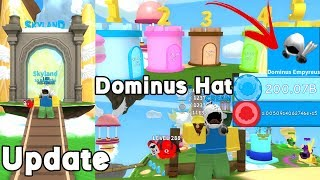 Update! Sky Land, New Obby, Dominus Hat! New Pets, Flavor,  Popsicle and More! - Ice Cream Simulator