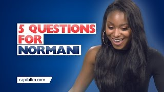 5th Harmony's Normani Tells Us Her Party Trick!