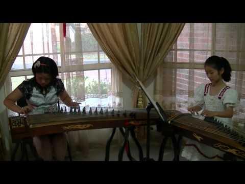 Chinese Music School of Sydney: Guzheng Duet - Flower Festival 赶花会