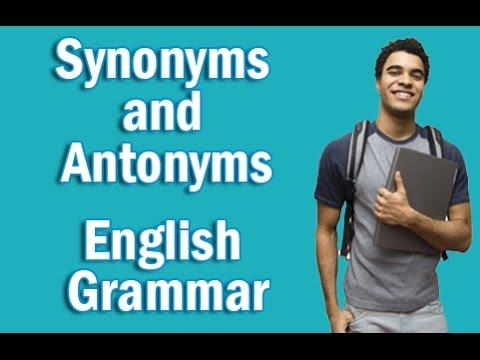 Basic English Grammar in Hindi | Synonyms and Antonyms