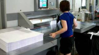 LONGER Paper cutting machine 1150C (Single arm type)