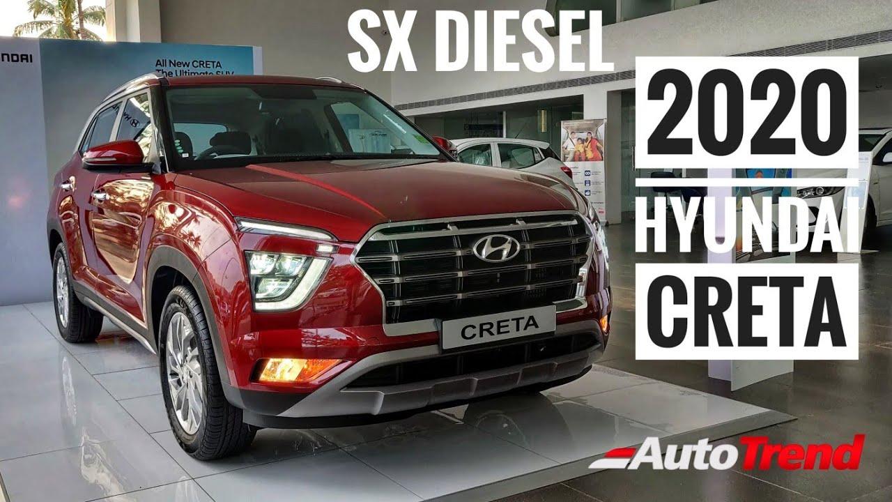 2020 Hyundai Creta Sx Diesel Mt First Walkaround Review From Dealership Better Than Kia Seltos Youtube