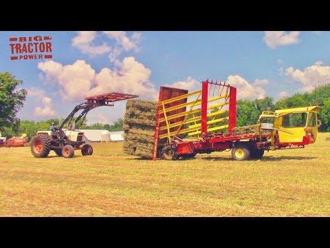 Harvesting Hay Bales