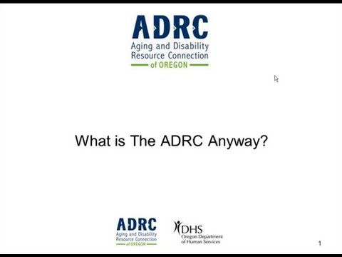 What is this ADRC, anyway?