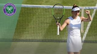 Simona Halep vs Mihaela Buzarnescu Wimbledon 2019 Second Round highlights