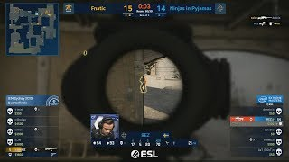 GAME OF THE YEAR - NiP vs Fnatic - IEM Sydney 2019 - CS:GO