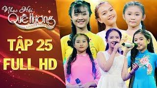 Nhạc hội quê hương | tập 25 full: Nghi Đình, Hiền Trân, Quỳnh Như, Kim Chi hội ngộ cùng khoe giọng