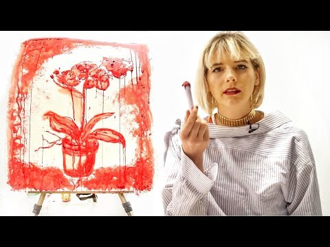Women Paint with Period Blood for Feminism